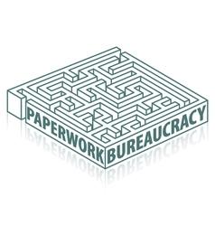 Paperwork and bureaucracy vector