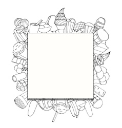 Square Background vector