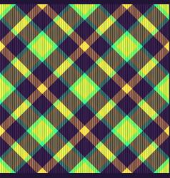 tartan fabric texture vector image