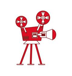videocamera vector image