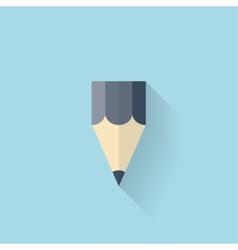 Flat web internet icon Pencill vector image