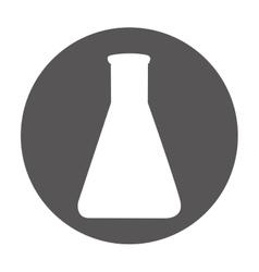 tube test laboratory isolated icon vector image