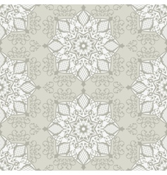 Vintage abstract seamless pattern vector image vector image