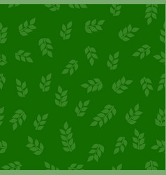 green leaf seamless texture vector image