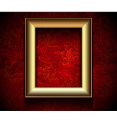 Picture Frame Wallpaper Background vector image