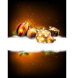 Christmas background decorative vector