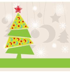 Christmas kids background vector