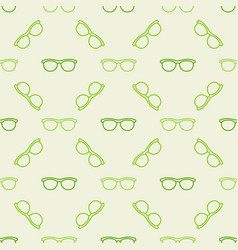 Colorful glasses pattern vector