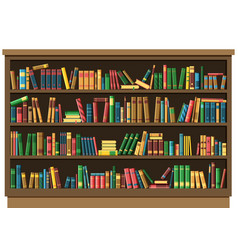 education library book store concept vector image