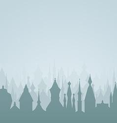 Fairytale card vector image