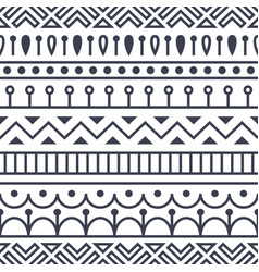 seamless pattern inspired by scandinavian finnish vector image