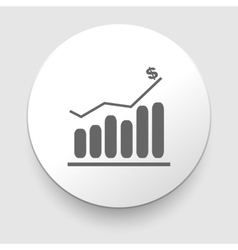 Business Infographic icon - Graphic vector image vector image