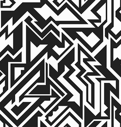 monochrome technology seamless pattern vector image vector image
