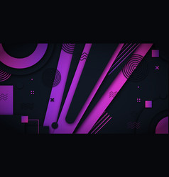 abstract background with luxurious dark purple vector image