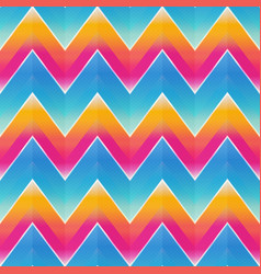 abstract zigzag pattern vector image
