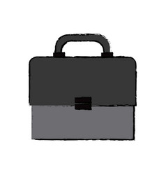 Business portfolio document briefcase work vector