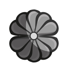 floral art decorative icon vector image