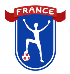 france win vector image