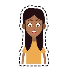 happy kid or child icon image vector image