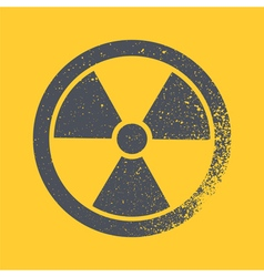icon radiation vector image