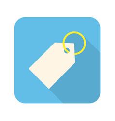 tag stylish icon vector image