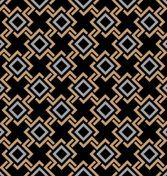 Ethnic seamless geometric pattern in Celtic style vector image vector image
