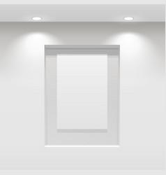 Showroom panel vector