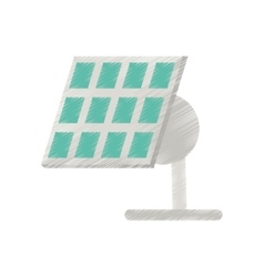 Solar panel renewable energy alternative ed vector