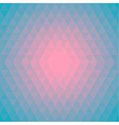 Pattern Background made of Triangles in trendy vector image vector image
