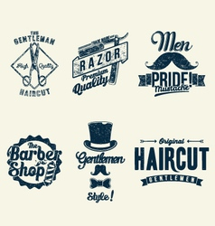 Vintage Barber Shop vector image vector image