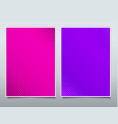 Brochure flyer business modern design booklet vector