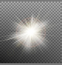 Burst effects on transparent background eps 10 vector