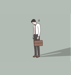 failure problems in business concept vector image