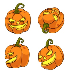 HalloweenPumpkinCartoon vector