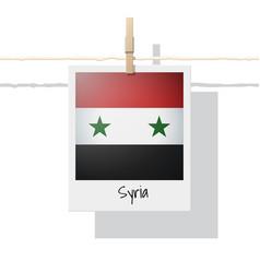 Photo of syria flag vector