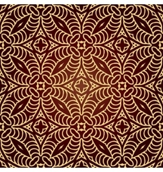 Seamless hand drawn ethnic texture vector image