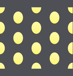 Seamless rwxture with egg looking shapes vector