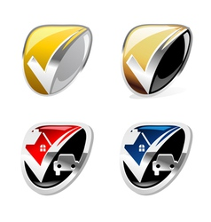 Trusted Shield vector image vector image