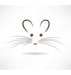 Rat icon vector image vector image