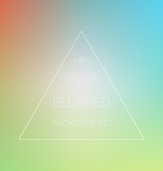 Abstract Gradient Mesh Blurred Passion Background vector image