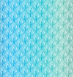 Blue squama pattern vector image