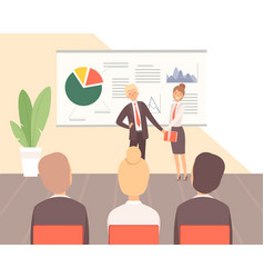 business training guest lecturer corporate vector image