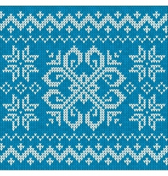 Christmas ornamental embroidery vector