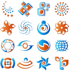 Design elements set 1 vector image