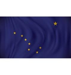 Flag alaska vector
