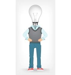 Idea guy vector