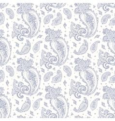 Paisley Hand drawn seamless pattern vector