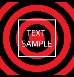red and black texture vector image
