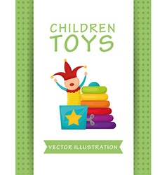 Toys design vector