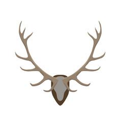 antlers vector image